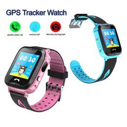 $enCountryForm.capitalKeyWord Canada - Kid GPS Tracker Safe Smart Watch Phone Children SOS Emergency Waterproof Wristwatch GSM SIM Sports Watches V6G Anti-lost Wearable Bracelet