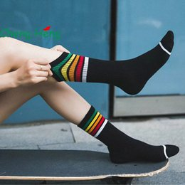 3821999e7 CHENG HENG 5 pairs bag New Mori Wind Pure Cotton funny novelty happy Socks  female colorful women kawaii sock hosiery Winter