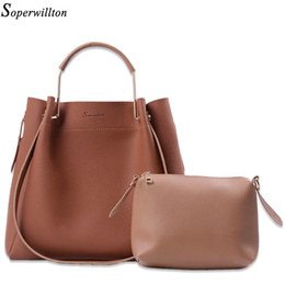 Wholesale- Soperwillton Brand Women Shoulder Bags New 2017 Fashion  Artificial Leather With Double Shoulder Straps Bags Set For Female  1133 fabf9f8a0af59