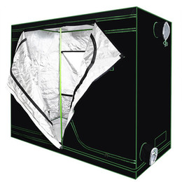 TenT waTerproofing online shopping - Reflective Mylar Waterproof Grow Tent Green plant room with Obeservation Window and Floor Tray for Indoor Flowers Plant Growing Dismountable