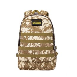 Waterproof camouflage clothing online shopping - PUBG Jedi survival Level Backpack Student Computer Bag Waterproof Camouflage Mountaineering Bag