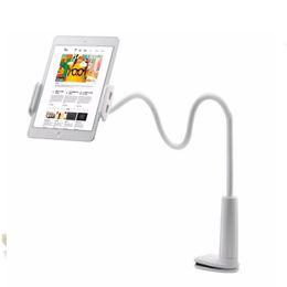 İPad için Evrensel Esnek Masaüstü Telefon Tablet Standı Tutucu 3.5-10.5 inç 360 Derece Dönebilir