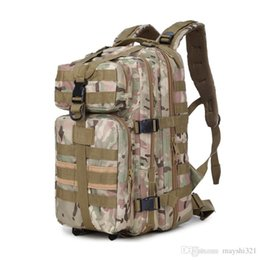 Camouflage Camping gear online shopping - Outdoor molle gear L military backpack P Waterproof Canvas Nylon Travel Rucksacks Camping Bag Trekking Bags