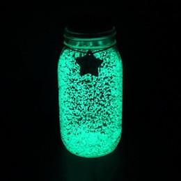 10 г фантастическая Звезда желая бутылки флуоресцентные частицы световой партии яркая краска Звезда желая бутылки DIY звездное желание бутылки