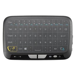 android for tv NZ - NEW Mini H18 Wireless Keyboard 2.4G Portable Keyboard With Touchpad Mouse for Windows Android Google Smart TV Linux Windows Mac