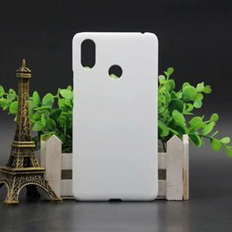 plastic sublimation NZ - For Xiaomi Mi Max 3  Mi Max3 Sublimation 3D Phone Mobile Glossy Matte Case Heat press phone Cover