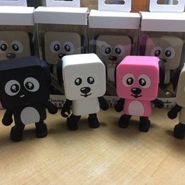 Dog Speakers Australia - Cute Portable Smart Dancing Robot Wireless Bluetooth Speaker Dancing Robot Music Dog