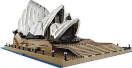 30002 children's building block puzzle toy building model city series Sydney opera house from set up tools suppliers