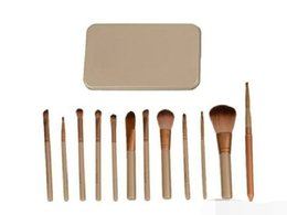 12 Brush Kit NZ - Hot makeup 12 Pcs set brush NUDE 3 Makeup Brush kit Sets for eyeshadow blusher Cosmetic Brushes TooL DHL Free Shipping