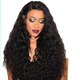 """Chinese  Top Quality 25"""" Black Dark Brown Long Afro Kinky Curly Wave Hair Wigs Heat Resistant Synthetic Wig for Black Women manufacturers"""