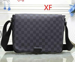 bb70e974f87f 2018 Free Delivery AAA+brand classic luxury business men shoulder bags  casual genuine leather mens bag design top quality man bag wholesale mens  cotton ...