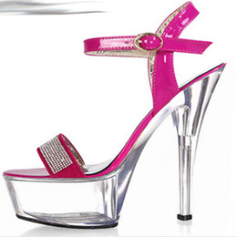Calendars, Planners & Cards Energetic Sexy 15 Cm High-heeled Sandals Nightclub Dance Shoes Pole Dancing Shoes Model High Heels Dance Shoes