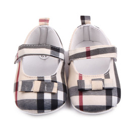 Butterfly prints faBric online shopping - Baby Shoes Spring Soft Sole Girl Cotton First Walkers Fashion Baby Girls Shoes Butterfly knot First Sole Kids Shoes
