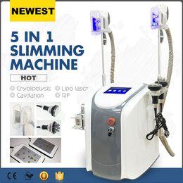 Wholesale Zeltiq cryolipolysis fat freezing machine cool sculpting cryo therapy slimming cavitation rf machine fat reduction lipo laser machine CE DHL