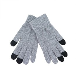 China Women Men Multi-function Knitted Screen Winter Gloves Soft Warm Mitten for iPhone Smartphones Laptop Tablet Fashion Screen Fing supplier women tablet suppliers
