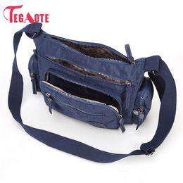 $enCountryForm.capitalKeyWord Canada - wholesale Women Messenger Bag Nylon For Women Bags Shoulder Crossbody Bags Fashion Ladies Handbags School Bags Bolsa Sac A