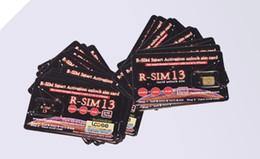 Оригинал Rsim R SIM 13 разблокировка карты для телефона XS max XR IOS 12 LTE iccid США Мексика США Sprint