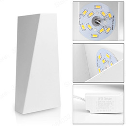 Art Deco LED Wall Light For Home Dual Head Geometry Bedside Lamp Bathroom  Loft Dinging Room Indoor Lighting Fixture