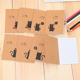 Discount small paper notebooks - Cowhide Notebook Paper Blank Notepad Book Vintage Kraft Paper Easy To Carry Small Notebook Graffiti Sketch Creative Simp