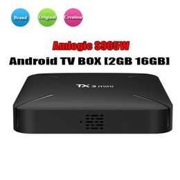 M8s Android Tv Boxes Australia - New TX3 Mini Android TV Box Amlogic S905W Quad Core 1GB 8GB Android 7.1 Smart Media Player Support IPTV 2.4G Wifi Better MXQ Pro M8S X96