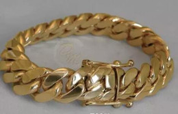 Heavy curb silver bracelet online shopping - 14K Gold Miami Men s Cuban Curb Link Bracelet quot Heavy Grams mm