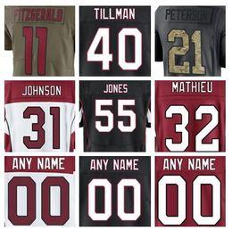2018 arizona larry fitzgerald cardinals jersey custom pat tillman adrian  peterson authentic sports youth kids american football jerseys xxxl 4e7c54bff
