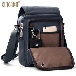 XINCADA Canvas Messenger Bag Shoulder Bag Cross Body Bag Work Business  Travel Bags for Men 17f4bbcef1e33