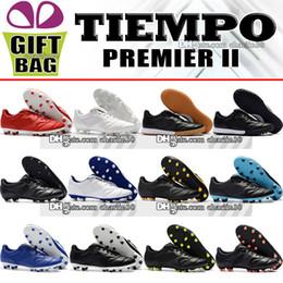 $enCountryForm.capitalKeyWord Canada - New 2018 Original Mens Ourdoor Indoor Trainers Football Shoes Tiempo Premier II FG TF IC Soccer Boots Retro Tiempo Soccer Cleats Size 39-46