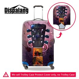 Discount cover for piano - Piano Guitar Design Women Portable Trolley Cover Travel On Road Luggage Protective Cover Case For A Suitcase Dust Rain C