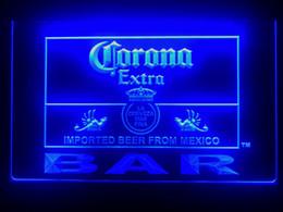$enCountryForm.capitalKeyWord Australia - 418b- Corona Bar Beer Extra LED Neon Light Sign Provide USB on off switch wire