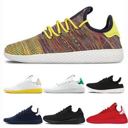 e4e587692dd7c Pharrell Williams x Stan Smith Running Shoes for Men Women Tennis HU  Primeknit Breathable Runner Luxury Brand Designer Sports Sneakers 36-45