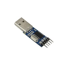 rs232 usb module NZ - 2019 PL2303 USB To RS232 TTL Converter Adapter Module with Dust-proof Cover PL2303HX