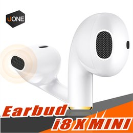 Wholesale Universal Mini I8X Wireless Earphone bluetooth headphones earphone headset Single right earbuds for iPhone X Samsung S9 Plus Smartphone