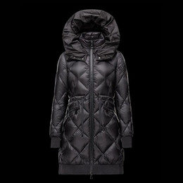 $enCountryForm.capitalKeyWord Canada - 2018 New Women coat Open mouth hood Winter long parka Black down jacket Skirt lady Light overcoat Waist belt