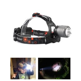 $enCountryForm.capitalKeyWord NZ - High Quality LED Headlamp 3800LM Headlight CREE T6 18650 Head Lights Zoomable Tactical 18650 Battery Outdoor Waterproof