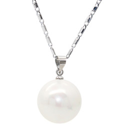 $enCountryForm.capitalKeyWord Australia - Fashion Pearl Jewelry Series Freshwater Oyster Shell Pearl Pendant Gives Mother a Surprise Gift