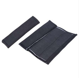 padded seat belt cover UK - VODOOL Car Safety Seat Belt Pads Harness Safety Shoulder Strap Cushion Cover Shoulder Cover for Universal Car High Quality
