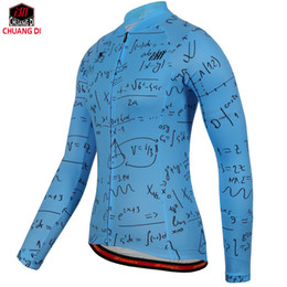 online shopping Cycling Jersey Women Long Sleeve printing Ropa Ciclismo Bike Cycle Maillot Bicycle Wear MTB Cycling Clothing