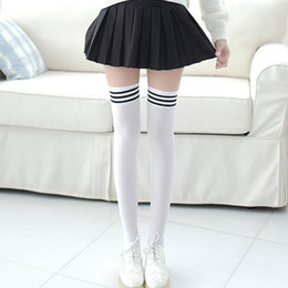cc410116d Knee High Socks Football Girls Australia - 1 Pair Thigh High Over Knee High  Socks Girls