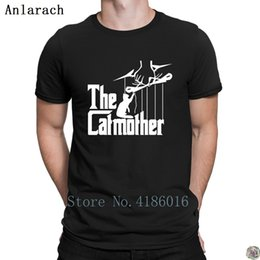 61063d0e T Shirts For Lovers Australia - The Catmother Funny Cat Lovers tshirt  stylish Creative Top Quality