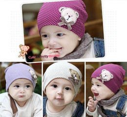 Baby Boy Skull Crochet Beanies Australia - High Quality Cotton Toddler Kid Girls Boys Baby Winter Warm Crochet Knit Hat Beanie