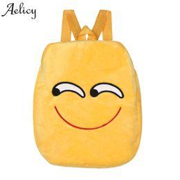 aea552f2c3 Aelicy Fashion Emoji Bag School Backpack Youth Kawaii kids Backpack  Schoolbag Cute Printing for Girl Teenage sac a dos