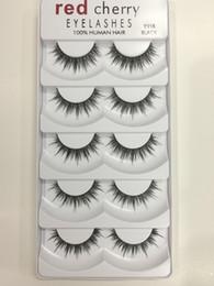 $enCountryForm.capitalKeyWord Canada - Red Cherry False Eyelashees 100% Human Hair Natural Long Fake Lashes 8 styles available DHL Free