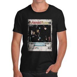 Twisted Envy Asteroid Arena Мужская забавная футболка на Распродаже
