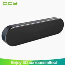 Aux Stereo System Australia - QCY B900 Bluetooth V4.1 speakers portable wireless speaker 3D stereo loudspeaker sound system support 3.5mm AUX music play