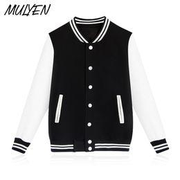 $enCountryForm.capitalKeyWord NZ - MULYEN Solid Color Single Breasted Baseball Clothing xxxxl hoodies Men Hip Hop Sweatshirt Fleece V-Neck Streetwear Plain Moletom