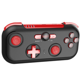 universal wireless game controller 2019 - IPEGA PG-9085 Mini Wireless Game Controller with Carry Case Universal stand for NS Android IOS PC Gamepad Free Shipping