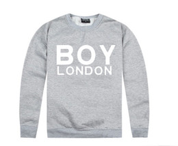 london boy hoodies NZ - New fashion men's sweatshirts Boy London Hoodies autumn winter 100% cotton high brand fleece print hiphop Casual sweats free shipping
