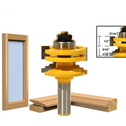 """Chinese  DIY Woodworking Tools Classical Ogee Glass Door Router Bit - 1 2"""" Shank manufacturers"""