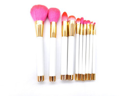 beauty supply hair wholesale 2021 - beauty color women facial beauty Face&Eye Cosmetics brush 10pcs makeup Chinese factory supply makeup-kit dhl free shipping